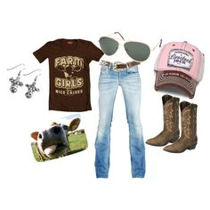 Farm Girl Brand. Love this outfit! Dislike the earings, but other then that!