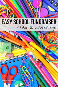 Easy school fundraiser - great way to raise money for schools, with no meetings and no volunteering required. ~via Lessons Learnt Journal
