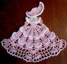 crocheted girl