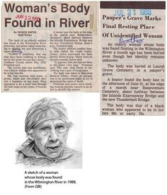 Unsolved cases of unidentified remains in Chatham County.