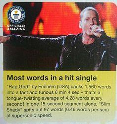 He Is A True Rap God