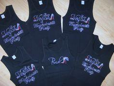 They have Las Vegas Bachelorette party shirts! Love it!