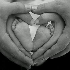 love heart - Baby photography