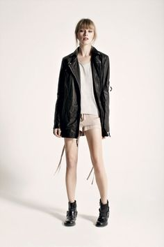 AllSaints Fall 12: an exercise in subtle contrasts