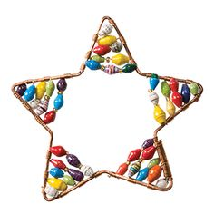 @WorldCrafts {Kanzi Star Ornament ~ Kanzi ~ East Africa} Made of multicolored, hand-rolled paper beads on a copper frame, this item will not only pop but remind you to pray for the artisans of East Africa. Kanzi supports impoverished artisans and a portion of their sales goes toward helping children at risk and orphans in Uganda. This enables the children to receive much-needed food, clothing, shelter, education, and spiritual care. #fairtrade #supportfreedom