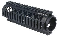 Blackhawk AR15 Carbine Length 2 Piece Quad Rail Forend from http://www.exploreproducts.com/blackhawk-ar15-quad-rail-2-piece-carbine-forend-71QF01BK.htm