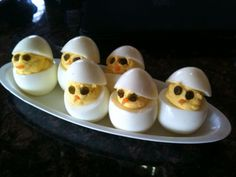 Deviled Chicks for Easter