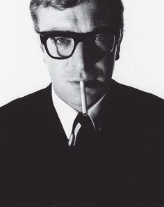 Michael Caine by David Bailey, 1965. #LegendaryStyle