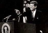 The History Place - John F. Kennedy Photo History: The President