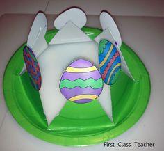 Classroom DIY: DIY Easter Egg Crowns