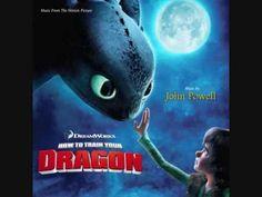 How to train your dragon Score: Romantic flight