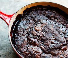 nutella chocolate cobbler (omg!)