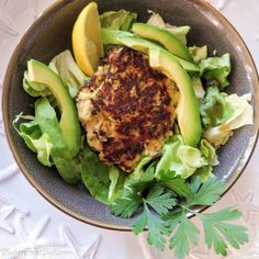 Simple Zucchini Salmon Cakes ~ simple, fast & delish!