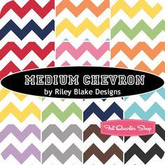 Medium Chevron Yardage Riley Blake Designs - Fat Quarter Shop