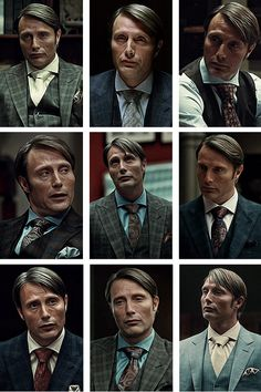 Mads Mikkelsen as Dr. Lecter on NBC's Hannibal