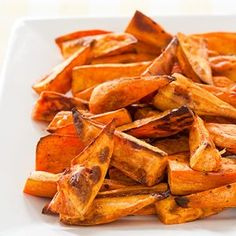 Caribbean spiced sweet potatoes
