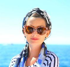 headscarfin' for summer | kelly golightly