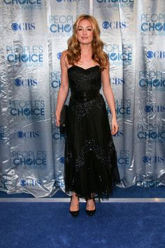 Celebs in black at the 2011 Peoples Choice Awards