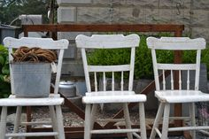 Charming little chairs @ www.chartreuseandco.com