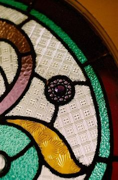 Rose Window Stained Glass by Lynette Richards, available at Gift of Art in London, Ontario, Canada.