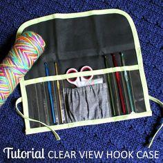 TUTORIAL: Clear View Crochet Hook Case   The Inspired Wren