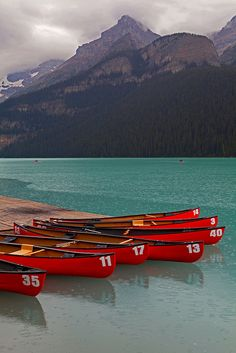 Lake Louise Located:Canadian Rocky Mountains - I love the water,but can't swim