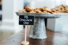 Peanut Butter Chocolate Chip Cookies - perfect! #FearringtonWedding #FearringtonVillage | Photographed by @Krystal Kast Photography #KrystalKastPhotography