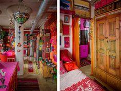 gypsy interior design, chic interiors
