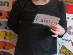 The value of name recognition in preschool....