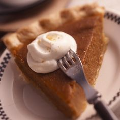 There's just something about Classic Pumpkin Pie -- it's always best on a cold winter day!