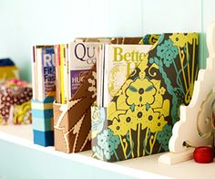 Fabric-Covered Organizers