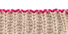 Italian bind-off - good for ribbing or brioche stitch
