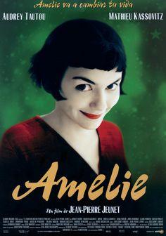 Amelie / Jean Pierre Jeunet audrey tautou, amelie, cinema, poster, jeans, france, movi, jeanpierr jeunet, films