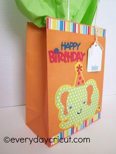 Create A Critter 2 Birthday Bag