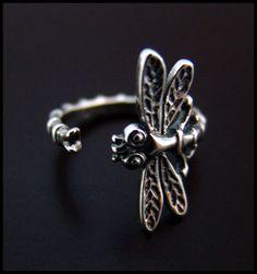 Dragonfly Ring - High Quality | eBay