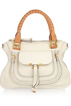 marcie small leather tote / CHLOÉ Want this!