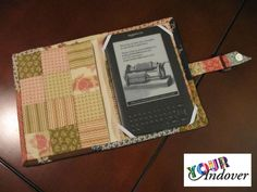 Congratulations to Rebecca, this week's winner of the Your Andover contest! She made this lovely Kindle cover using Renee Nanneman's Bella Bliss collection. Send your projects to yourandover@andoverfabrics.com for a chance to win a Dimples MEGA-bundle of all 135 colors AND a 500 dollar Andover Fabrics gift certificate!