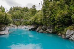 Isla Sur de Nueva Zelanda, la garganta de Hokitika