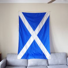 large scotland flag