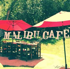 Malibu Cafe {ever been? it's pretty amazing}