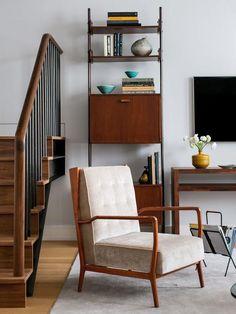 Mid-century-modern Living-rooms from Design Development on HGTV