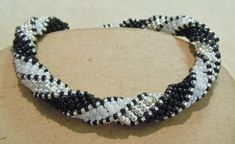 PATTERN Tutorial African Helix bead weaving by BaublesbyBalonis, $3.00