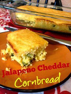 Easy Jalapeño Cheddar Cornbread Mexican Recipe