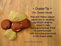 Crystal Tip: For Dream Recall