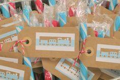 Train-Themed Birthday Party - Project Nursery