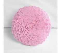 $35, Pink Rickrack Throw Pillow