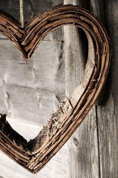 Wooden heart ♥