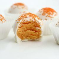 Orange Creamsicle Cake Bites