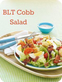 Easy weeknight dinner idea: BLT Cobb Salad recipe
