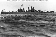 USS Baltimore 1943